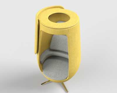 A11 Soft seating Lounge Chair