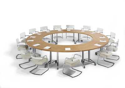 T.MEETING Flip-Top Conferentietafel
