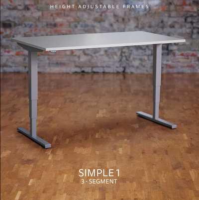 SIMPLE 1 - ELEKTRISCH VERSTELBARE Zit/StaTAFEL