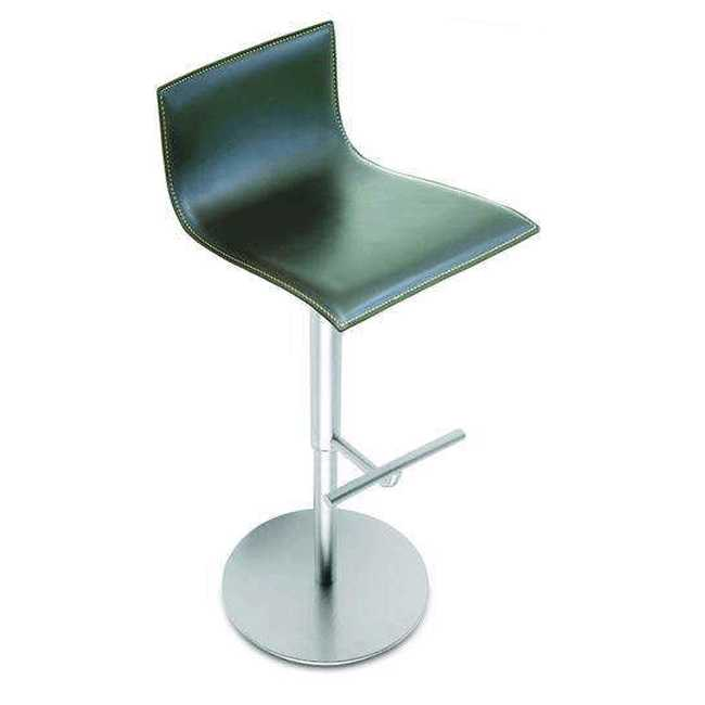 THIN Stool leather