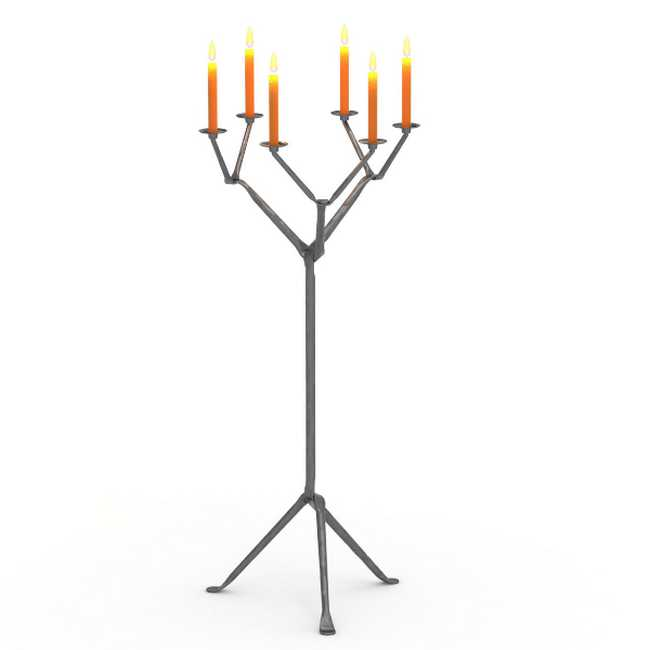 OFFICINA Floor Candle Holder