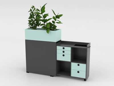 QUADRO Flower Box