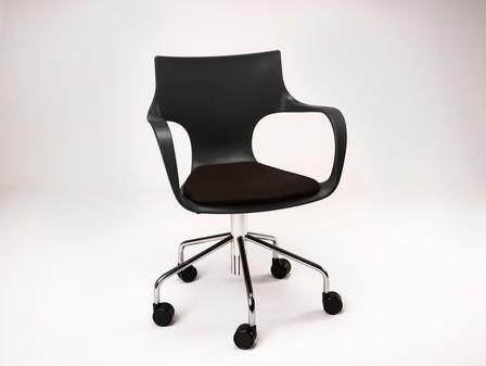 JIM Bureaustoel - met zitkussen