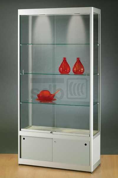 GPC 1000-O vitrine met Onderkast