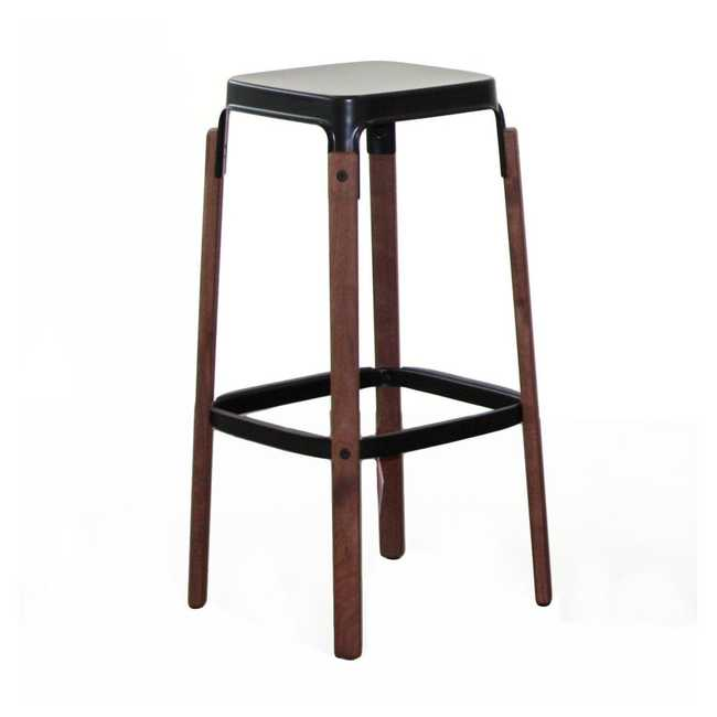 STEELWOOD Stool (Walnut)