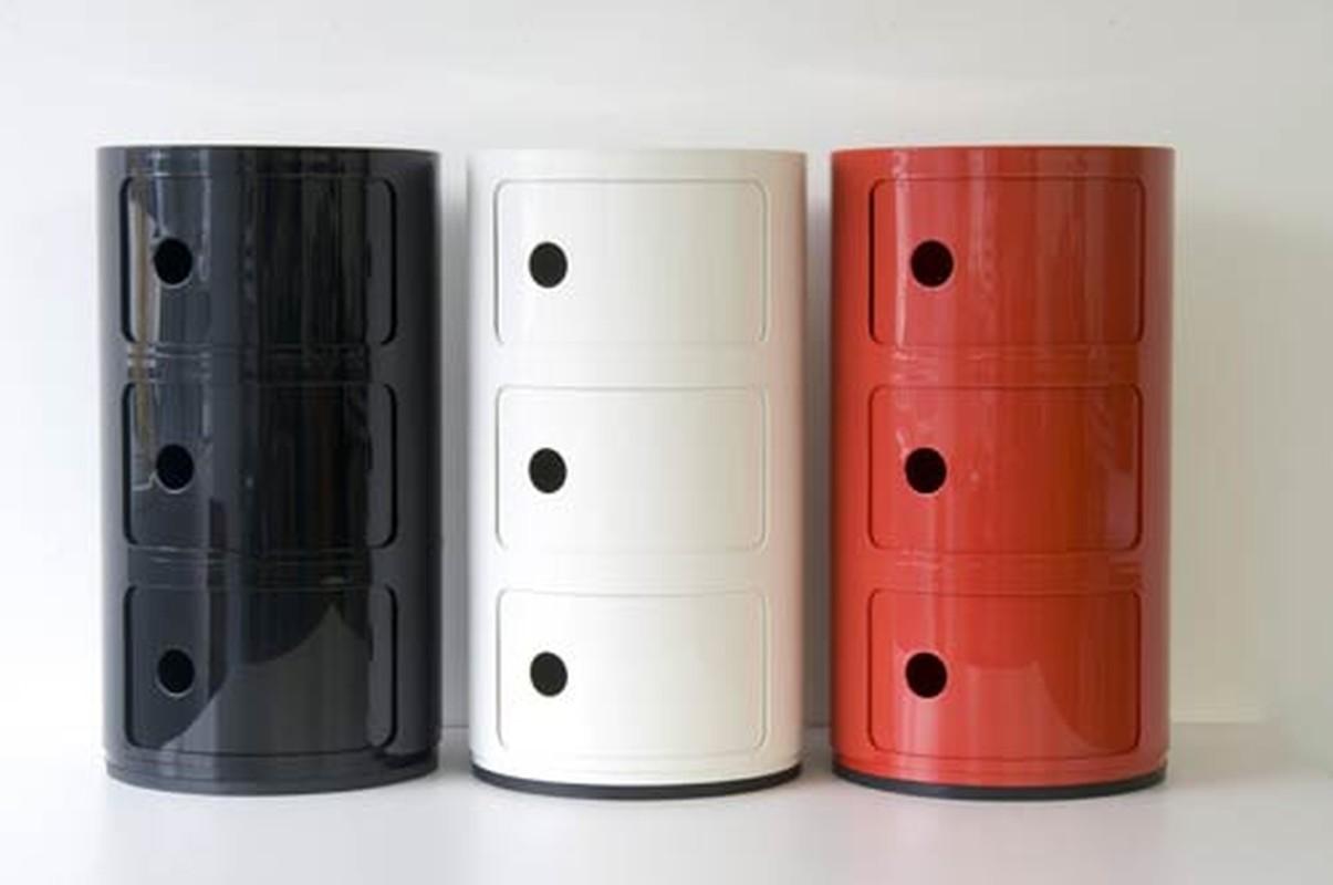 componibili container 3 deurs kartell partner shop amsterdam kmp kantoormeubilair. Black Bedroom Furniture Sets. Home Design Ideas