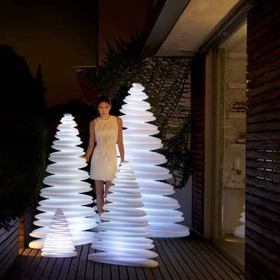 CHRISMY Tree 150cm LED RGBW