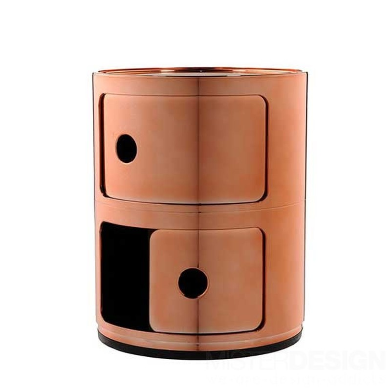componibili container 2 deurs metal kartell partner shop amsterdam kmp kantoormeubilair. Black Bedroom Furniture Sets. Home Design Ideas