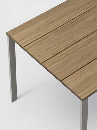 BE-EASY Slatted Table