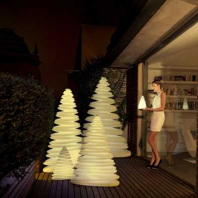 CHRISMY Tree 150cm LED White