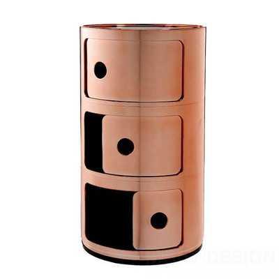 Componibili Container 3-deurs Metal