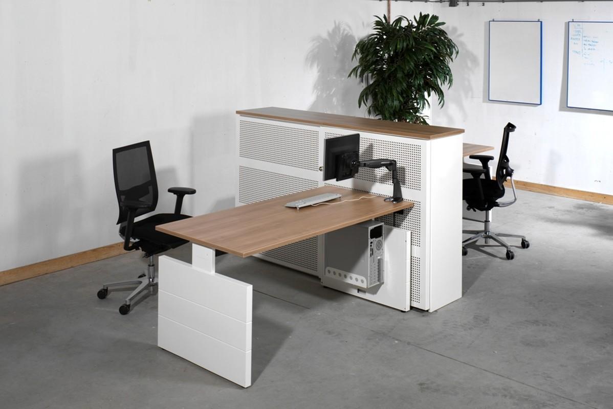 Nova werkplek swan products kmp kantoormeubilair for Swan ladenblok