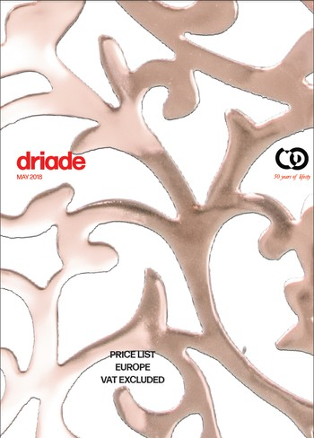 DRIADE Prijslijst 05 2018 Europa