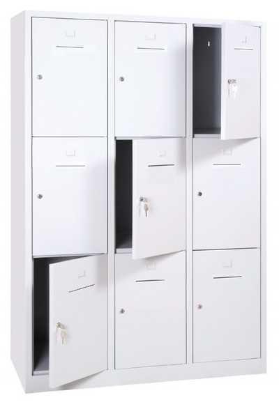 Lockerkast SHC 9-deurs