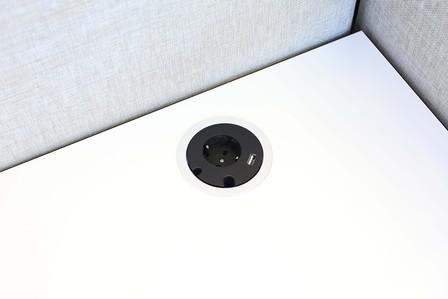 POWER GROMMET TWIST Round USB