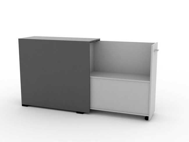 QUADRO DUAL Pull-Out Cabinet (LOW)