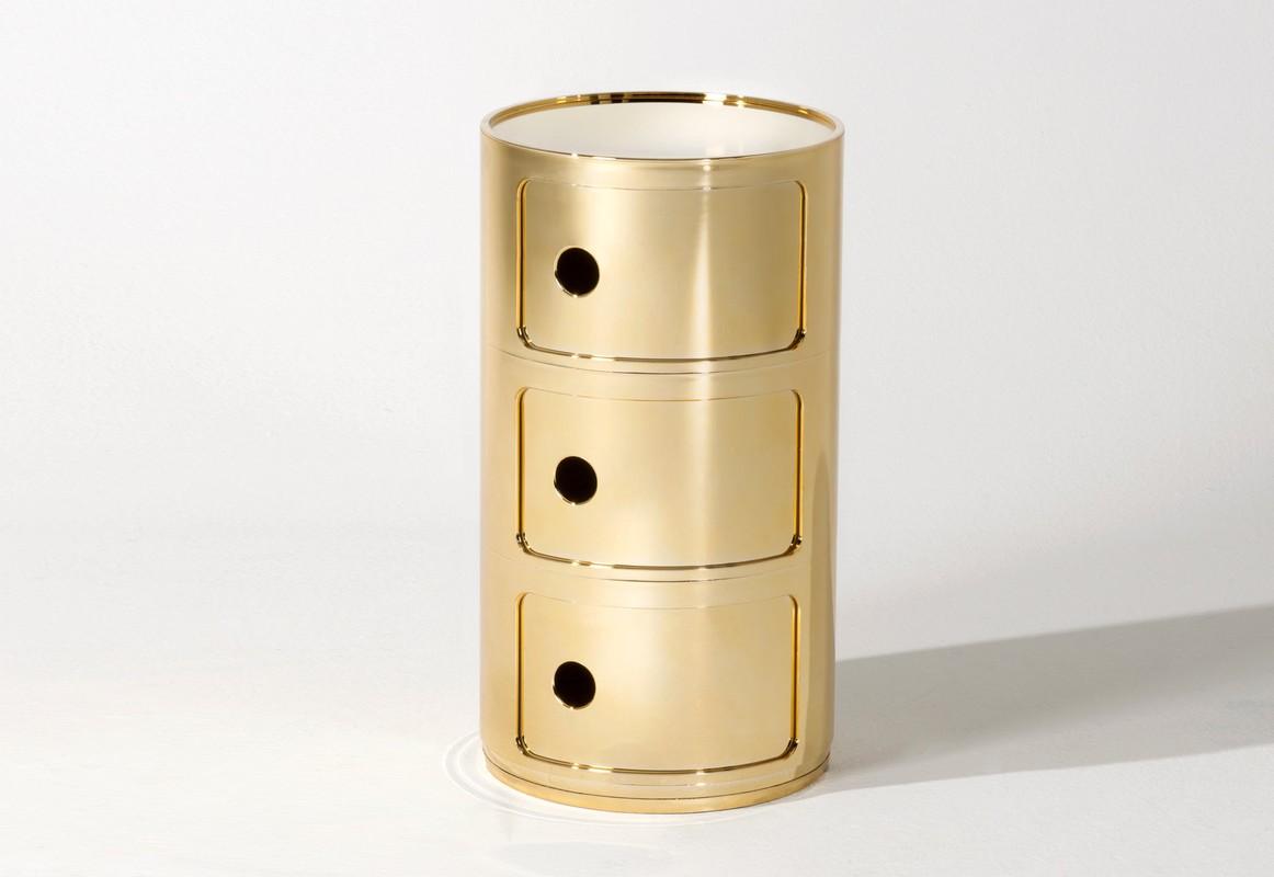 componibili container 3 deurs metal kartell partner shop amsterdam kmp kantoormeubilair. Black Bedroom Furniture Sets. Home Design Ideas