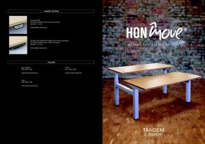 hon-move-technical data-TANDEM-2-SEGMENT